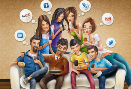 Social Network Behaviors for Businesses